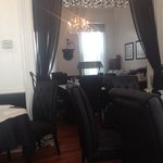 Small space but beautiful decor. Looking into the lunch buffet room. Only $10!