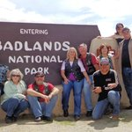 Badlands Wall Foto