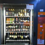 Beverage machine at the roof top patio... love it!