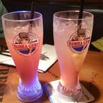 Bubba Gump Souvenir Glasses