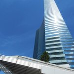 View of Vdara, looking up