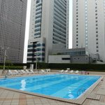 Restricted Keio Plaza Hotel Pool