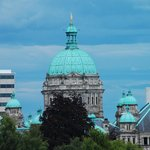 view to the provincial government buildings (taken with a zoom lens)