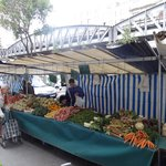 Farmers' market right in front of hotel on Wednesdays & Sundays