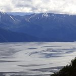 Turnagain arm from the top of mountain