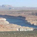 Lake Powell scenic lookout