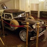 car in the lobby