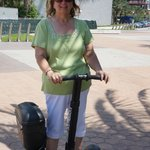 My first time on a Segway