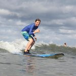 My 14 year old within the first hour - first time trying surfing!