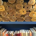 vintage paper scrolls - love the texture