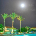 Full Moon, July 2014 over the pool