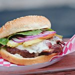 Peppered Bacon Burger