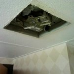 Exhaust Fan in Bathroom