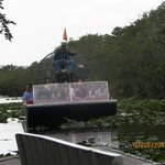 Airboat and Guide