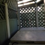 Sissinghurst patio/hot tub for 2