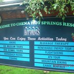 Chena Hot Springs Resort resmi