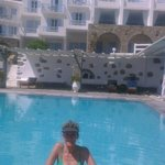 Photo de Manoulas Mykonos Beach Resort