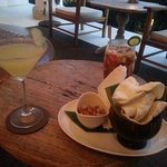 pimms cup and apple martini