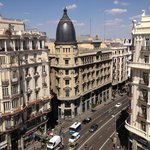 View of Gran Via from Room 10