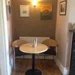 'The alcove' I had a lovely coffee tucked in there! :)