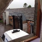 The view from our bedroom window........ The Abattoir!!!