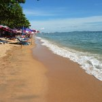 Jomtien beach is a short Songteaw ride away