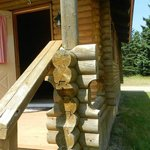 Foto Cajun Cedar Log Cottages