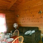 Foto van Cajun Cedar Log Cottages