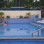 New outdoor swimming pool /mineral water/