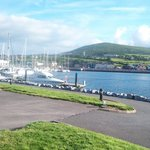 Looking back towards Dingle Marina Lodge