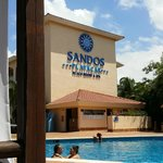 Foto de Sandos Playacar Beach Resort & Spa
