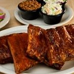 Our Award-winning Hickory-smoked Rib Sampler for Two