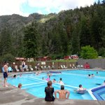 Foto van Quinn's Hot Springs Resort