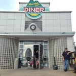 Front of the diner