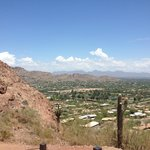 Great panoramic views of Phoenix.