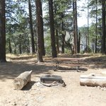 North Rim Campground space 14