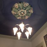 Light fixture in common area.