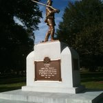 Military monument on  WV State Capitol complex grounds