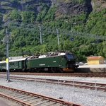 The Flam Railway Foto