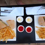 Panini and Fries - Pool Bar