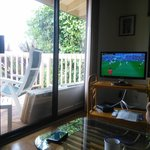 couch, tv, deck, world cup final