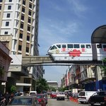 Monorail and Hotel Sentral