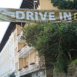 The ubiquitous cream cake (drive thru at Hotel Jadran!)