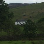 Ashness Farm.  View from the lane.