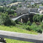 Barnard Castle- the town from the castle.