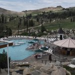 pool at the summit