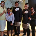 My friends and I at the InterContintental KL. Love the staff here. Mohammed Izzat is a celebrity