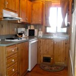 Kitchenette Cozy Cabin #9