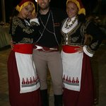 The Greek Night professional dancers