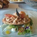 Whitby dressed crab